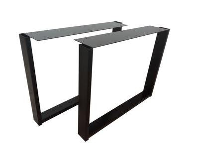 Ножка кофейного столика, скамейки черная НГ-023.81/ 9005