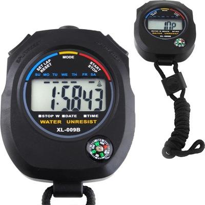 Cyfrowy Stoper z Kompasem Wielofunkcyjny Timer