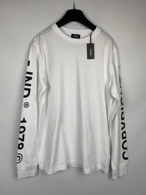 O164 DIESEL koszulka z długim rękawem r. S