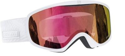 SALOMON Gogle narciarskie damskie SENSE S2 ruby