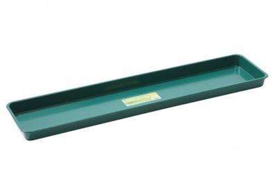 Veľký zásobník na parapete Veniec zelený 76x17.5xh3cm