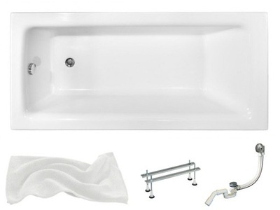 BATHTUB TALIA 120x70 BESCO + SIPHON AUTOMATIC!