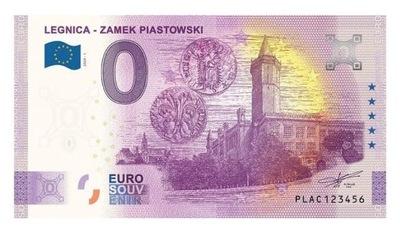 0 Euro - Legnica - Zamek Piastowski - Polska 2020