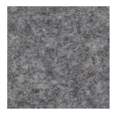 войлок декоративный , Декоративный 30x40 - меланж пепельно-серый