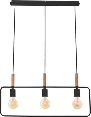Lampa wisząca czarna loftowa 3P FRAME Candellux
