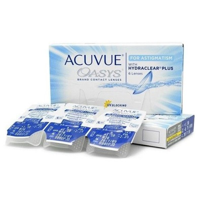 ACUVUE OASYS for Astigmatism Toryczne 6 szt.