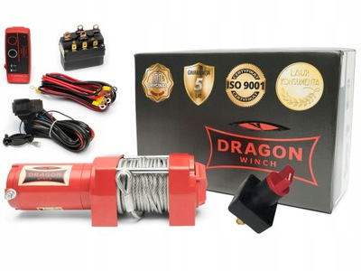ЛЕБЕДКА ЛЕБЁДКА QUADA DRAGON WINCH DWM3500ST