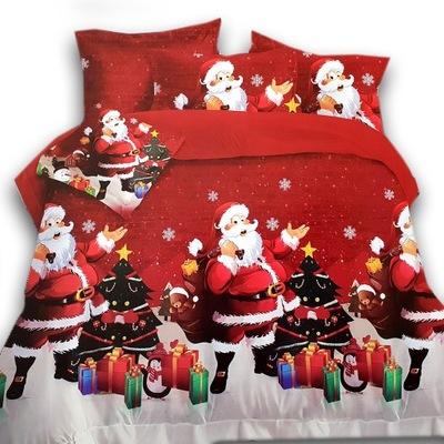 Posciel Na Boze Narodzenie 3d 140x200 2 Cz Mikolaj 7706257938 Oficjalne Archiwum Allegro