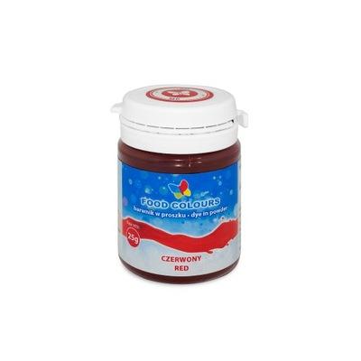 Пищевые красители красный порошок 25 Г