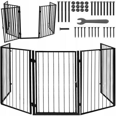 Bramka Barierka Zabezpieczająca Osłona do Kominka