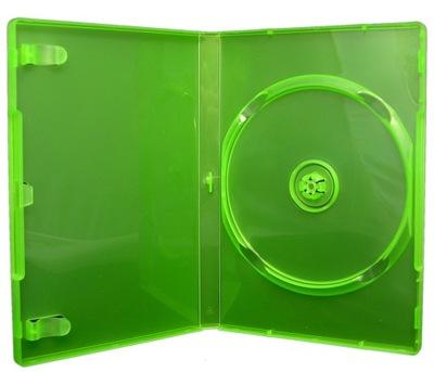 Pudełka na 1 DVD XBOX 360 ZIELONE 25szt SKLEP WaWa