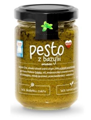 PESTO BAZYLIOWE 130 g HOTZ