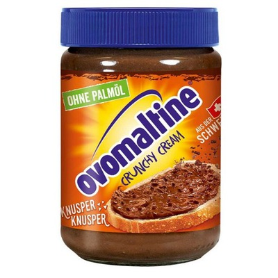 Ovomaltine Crunchy Cream Хрустящим Крем без масла