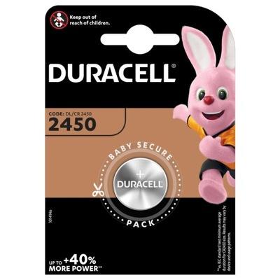 Bateria litowa DURACELL CR 2450 DL CR 3V x1