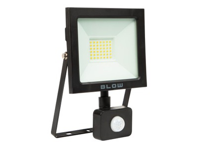 Naświetlacz LAMPA HALOGEN LED 30W + czujnik ruchu