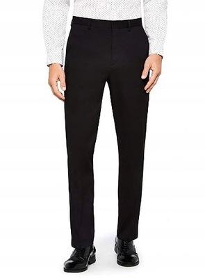 Męskie spodnie garniturowe 32R, pas 85, dł. 105