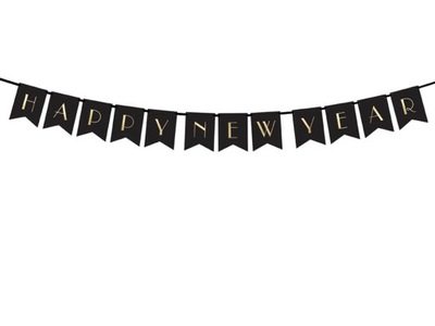 Baner Happy New Year 170cm Sylwester Nowy Rok