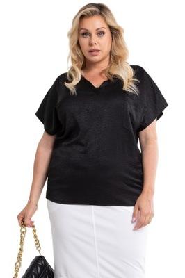 Bluzka pod żakiet elegancka LISA czarna 48