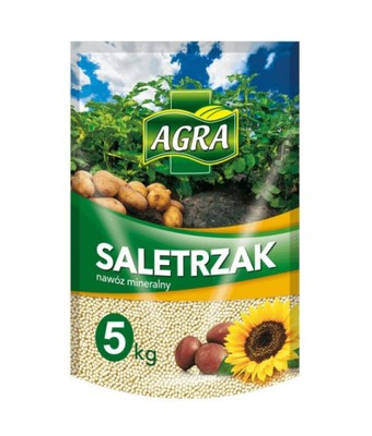 Nawóz mineralny saletrzak 5kg AGRA
