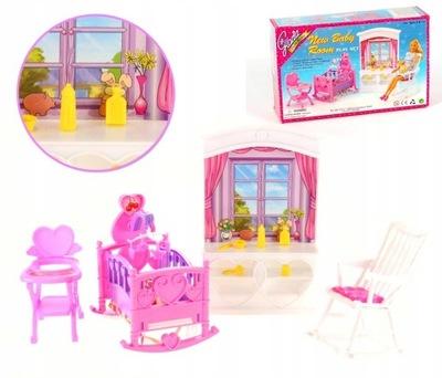 Kolísky hojdacia stoličky bielizníka detská bábika LITTLE BABY BORN BOY BÁBIKA INTERAKTÍVNE 827338