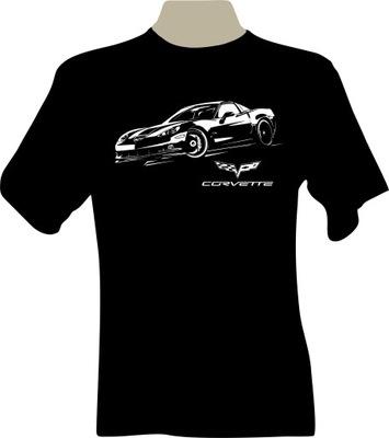 KOSZULKA T-shirt z nadrukiem chevrolet CORVETTE C6