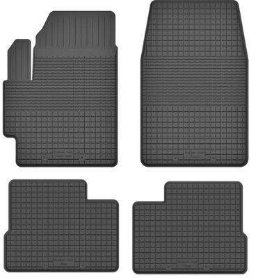 Dywaniki gumowe wycieraczki do MAZDA 3 I BK 03-09