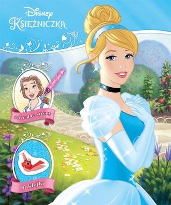 Książeczka Disney Księżniczka Naklejam i koloruję