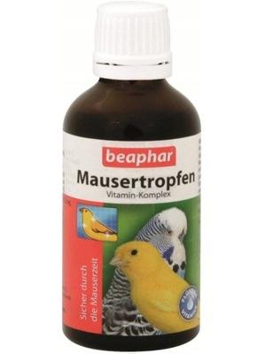 Mausertropfen witaminy dla ptaków na pierzenie
