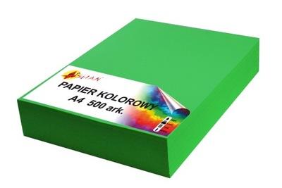 Papier kolorowy A4 80g zielony groszek 500 arkuszy