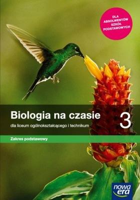 BIOLOGIA NA CZASIE 3 LO PODRĘCZNIK PODSTAWOWY 2021