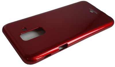 JELLY CASE silikon etui do Galaxy A6+ 2018 - RED