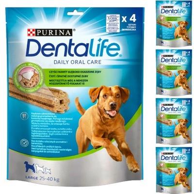 Dentalife Large przysmak dentystyczny 20 sztuk 4+1