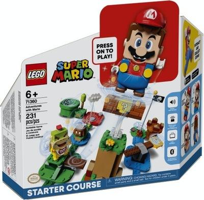 LEGO SUPER MARIO Przygody zestaw startowy 71360