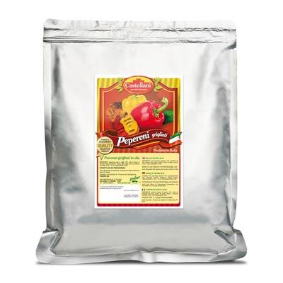 Перец grillowana в масле 1 ,1 кг КАСТЕЛЛАНИ