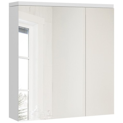 Тумба для ванны ? зеркалом белая 60 см