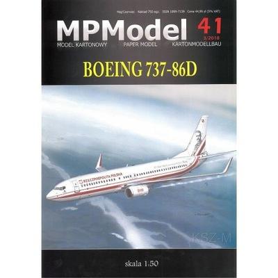 MPModel 41 - Boeing 737-86D Юзеф Пилсудский 1 :50