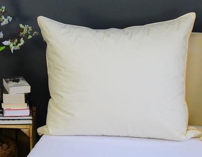 Komfortowa poduszka 70x80 puch gęsi polski bawełna