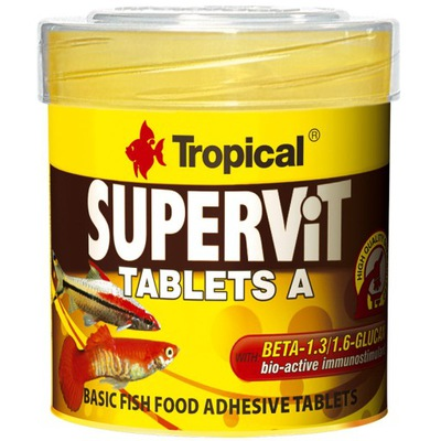 Tropical SUPERVIT TABLETS  50 - корм таблетки