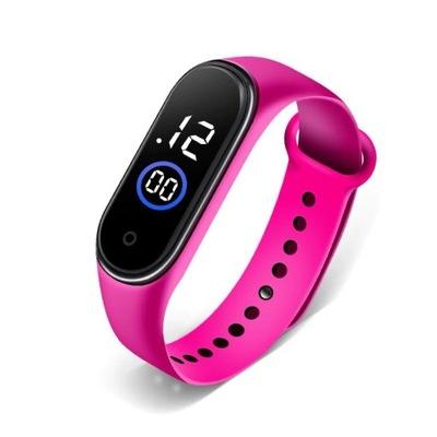 silikonowy zegarek na rękę dzieci jak smart