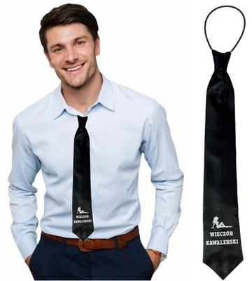 Krawat na WIECZÓR KAWALERSKI kawalerskie 13 wzorów