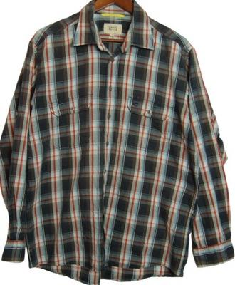 3P10 koszula męska REGULAR CAMEL ACTIVE L