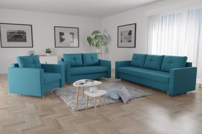 комплект отдыха ЛИДИЯ 3 +2 +1 Диван диван Кресло