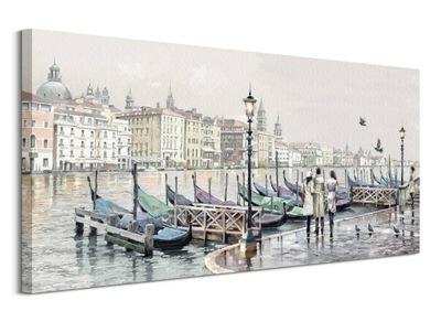 Ричард Макнейл Венецианский Порт Картина 100х50 см