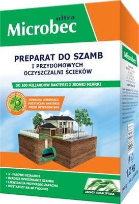 BAKTERIE DO SZAMB BROS MICROBEC EUKALIPTUS 1,2KG