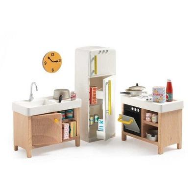 DJECO Nábytok pre bábiky KUCHYŇA Mon Petit domov