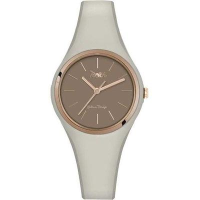 Zegarek damski TooBe VG020 Vogue beżowy prezent
