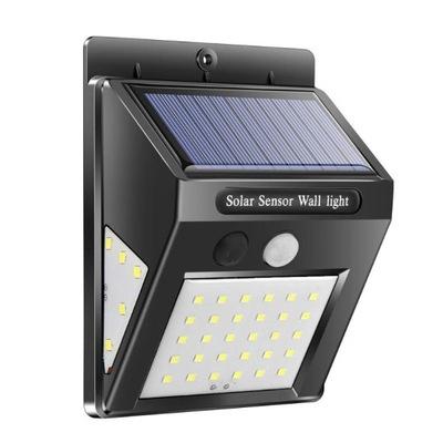 Lampa Solarna Czujnik Ruchu Zmierzchu JASNA 40 LED