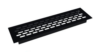 алюминиевая клетка ВЕНТИЛЯЦИИ - черная 60x245 мм