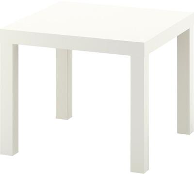 IKEA LACK STOLIK KAWOWY KWADRATOWY 55 X 55 BIAŁY