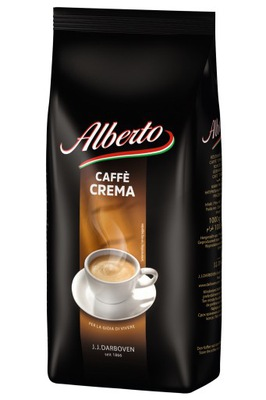 Альберто Cafe Crema 1 кг кофе ? зернах